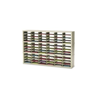 72 Pocket Open-Back Triple Mail Sorter Color: Putty