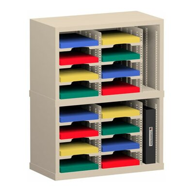 18 Pocket Sorter Color: Putty