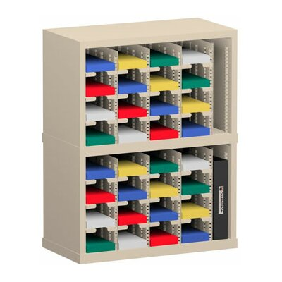 34 Pocket Sorter Color: Grey