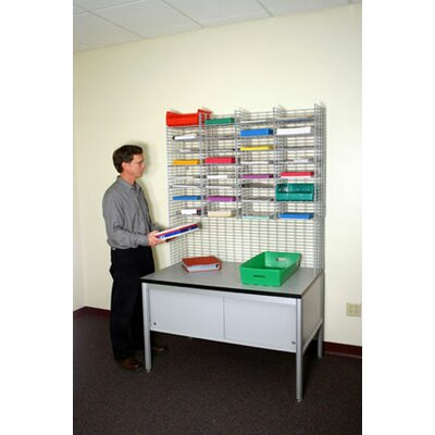 32 Pockets Raised Mail System with Legal Depth Product Image 3365