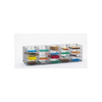 20 Pocket Wire Sorter Size: 16.13 H x 60 W x 15 D