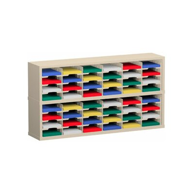 48 Pocket Mail Sorter Color: Grey