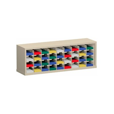 36 Pocket Sorter Color: Grey
