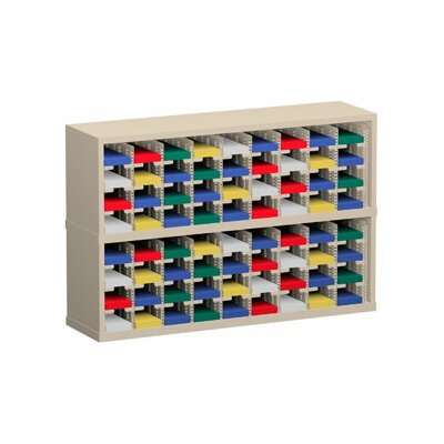72 Pocket Mail Sorter Color: Grey