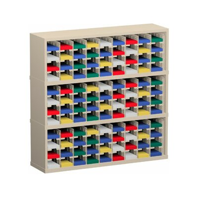108 Pocket Mail Sorter Color: Grey