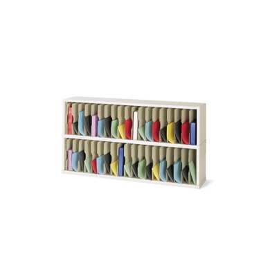 38 Pocket Mail Sorter Color: Grey