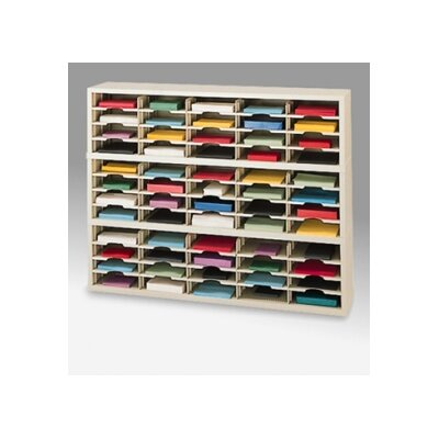 60 Pocket Mail Sorter Color: Grey