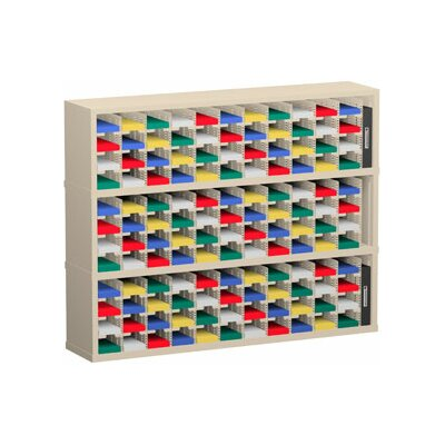 132 Pocket Mail Sorter Color: Grey