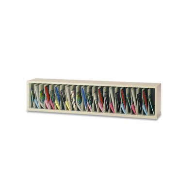 23 Pocket Vertical Mail Sorter Color: Putty