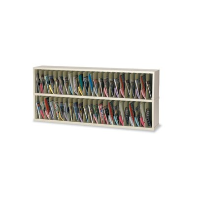 46 Pocket Vertical Mail Sorter Color: Putty