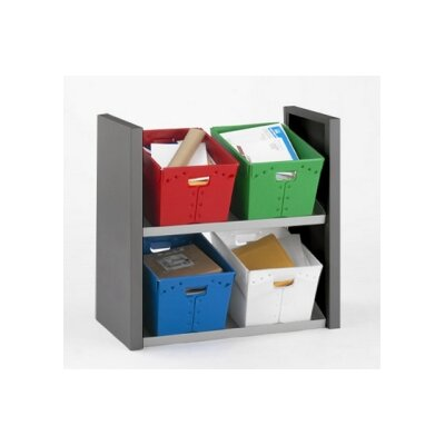 2 Shelves Tote Sorter Size: 34 H x 35.5 W x 18.75 D Product Image 3365