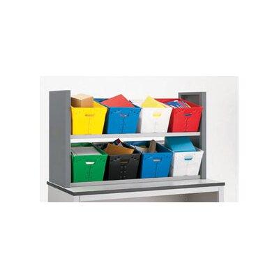 2 Shelves Tote Sorter Size: 34 H x 58 W x 18.75 D
