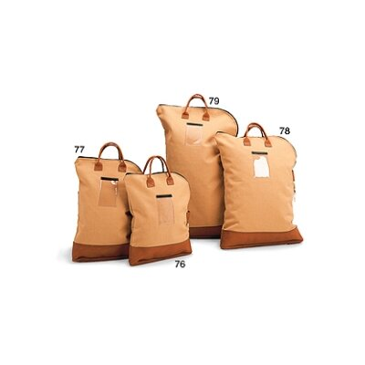 Heavy-Duty Canvas Security Bank Bag Size: 30 H x 19 W x 3 D