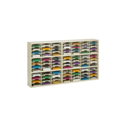84 Pocket Mail Sorter on Base Color: Grey