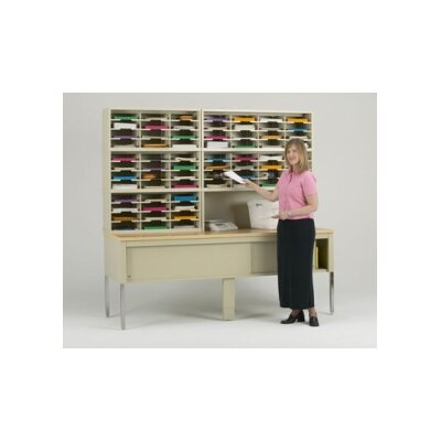 68 Pocket Mail Sorter on Base Color: Grey Product Picture 44