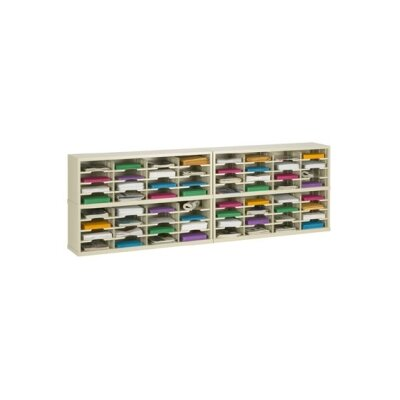 64 Pocket Mail Sorter Color: Grey