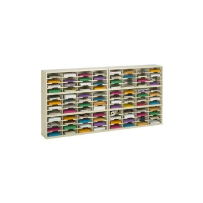96 Pocket Mail Sorter Color: Grey