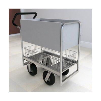 Ergo Handle Solid File Cart B254E-HP