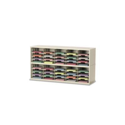 2 Tier Mail Sorter Color: Putty Product Image 7537