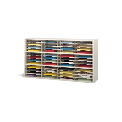 48 Pocket Mail Sorter Color: Putty