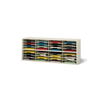 32 Pocket Mail Sorter Color: Putty