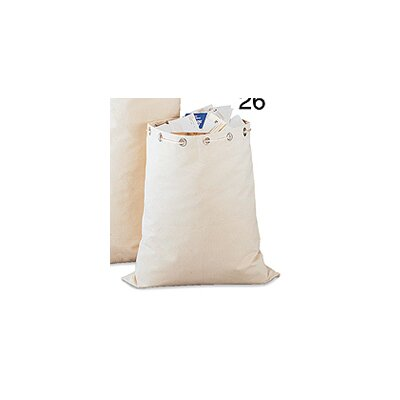 Canvas Mailbag Size: 26 H x 23 W