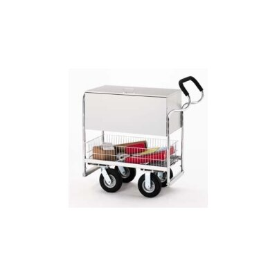 Medium Ergo Solid File Cart with Locking Top and Caster Options B255-HP