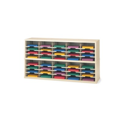 40 Pocket Mail Sorter Color: Putty