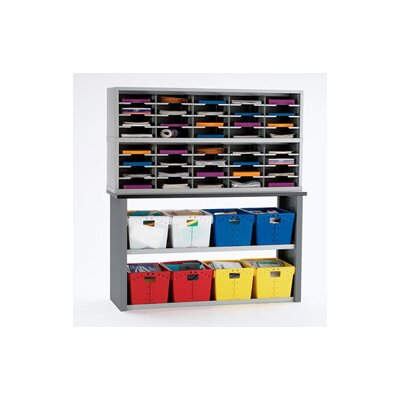 42 Compartment Mailroom Organizer