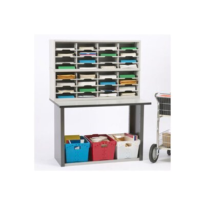 33 Compartment Mailroom Organizer