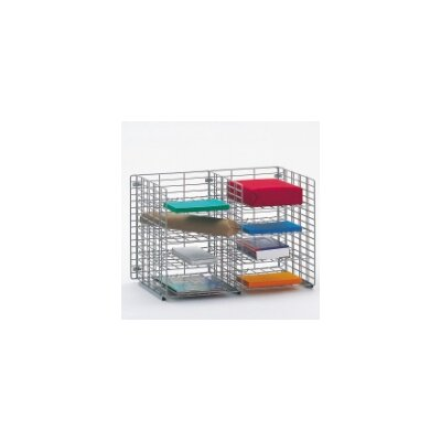 8 Pocket Wall Hung Wire Sorter Size: 16.13 H x 24 W x 15 D