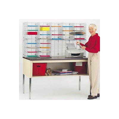 28 Pocket Double Organizer Size: 32.25 H x 60 W x 15 D
