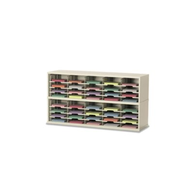 2 Tier Mail Sorter Color: Putty