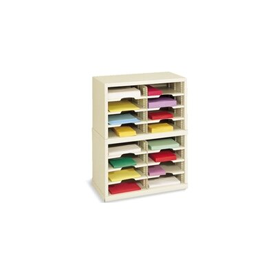 16 Pocket Mail Sorter Color: Grey