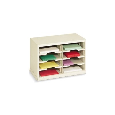 8 Pocket Mail Sorter Color: Grey