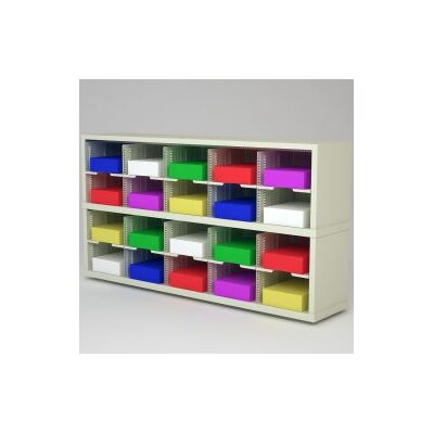 20 Pocket Mail Sorter Color: Grey