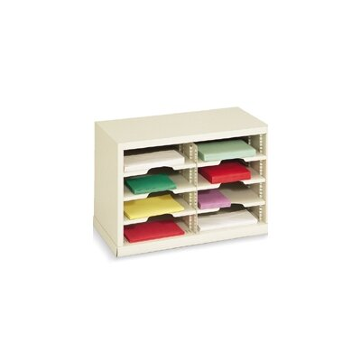 8 Pocket Mail Sorter Color: Putty