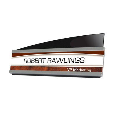 Interior Image��Architect Nameplate Sign Holder