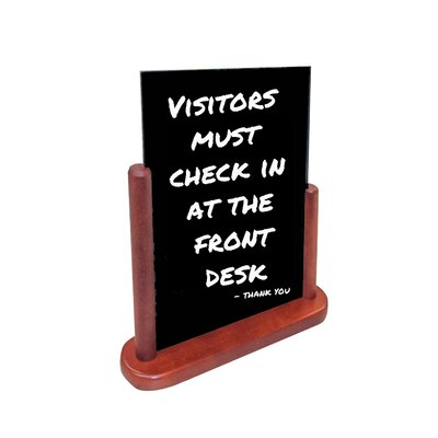 Double-Sided Wet-Erase Sign (Set of 10)