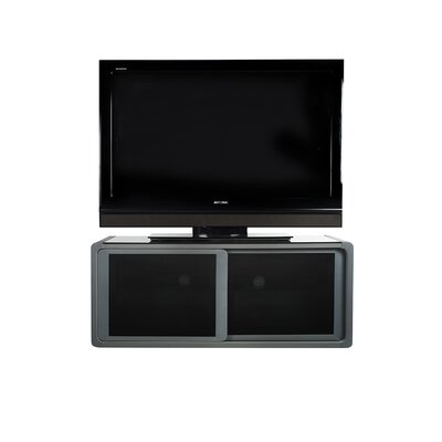 Bloch 1050 Tv Stand Finish: Grey/silver
