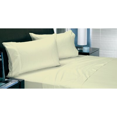 Coolest Comfort Sheet Set Size: Full, Color: Ivory