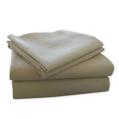 MicroBan 240 Thread Count Sheet set Color: Taupe, Size: Queen