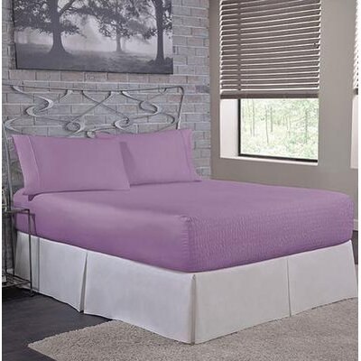 Carrick Sheet Set Size: King, Color: Lilac