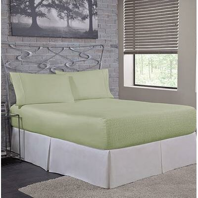 Carrick Sheet Set Size: Queen, Color: Sage