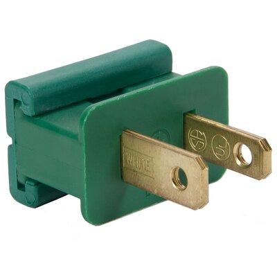 SPT1 Polarized Male Zip Plug Color: Green