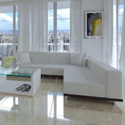 Modani SSE-PHAN-WH-SET-NEW-MODANI Dumas Modular Sectional Upholstery : modani sectional - Sectionals, Sofas & Couches