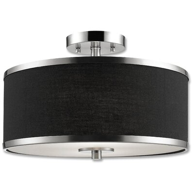 Medford 2-Light Semi-Flush Mount