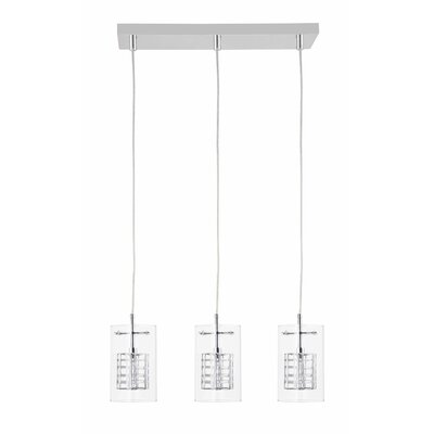 Miami 3-Light Kitchen Island Pendant