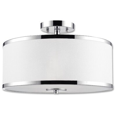 Concord 2-Light Semi-Flush Mount