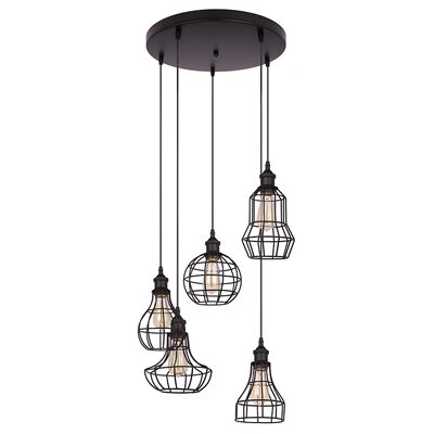 Lancy 5-Light Cascade Pendant